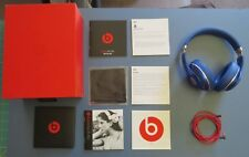 Beats by Dr. Dre Studio 2ND Generation Wired Over the Ear Headphones Blue