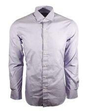 Polo Ralph Lauren Mens Gray Slim Fit Casual Button Down Shirt Size M