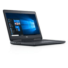 Dell Precision 7510 Intel i7-6820HQ 16Gb 256Gb SSD UHD  FirePro W5170M Win10 Pro