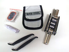 Bicycle Repair Tool and Puncture Kit stored in its own pouch