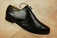 VTG Footjoy Classics Black Leather Cap Toe Lace Up Oxfords Shoes Mens Size 8 EEE