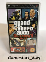 GTA CHINATOWN WARS GRAND THEFT AUTO - SONY PSP - NUOVO SIGILLATO - PAL NEW