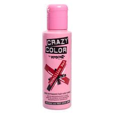 CRAZY COLOR SEMI-PERMANENT HAIR COLOR CREAM VERMILLION RED 40