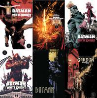 Batman Curse of the White Knight 1 2 3 4 5 6 & Von Freeze First Print & Variants
