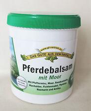 (33,00€/L) Pferdebalsam Moor wärmend 500 ml parfumfrei Balsam zum einreiben