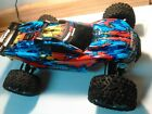 USED 4-5 TIMES  Traxxas Rustler 4x4 VXL roller slider chassis NICE