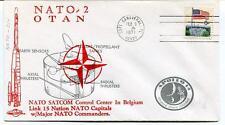 1971 NATO-2 OTAN Satcom Center Belgium Apollo 14 Shepard Roosa Mitchell USA SAT