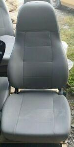 M2 FREIGHTLINER SEMI TRUCK GRAY VINYL NATIONAL AIR RIDE BUCKET SEAT - No Arm