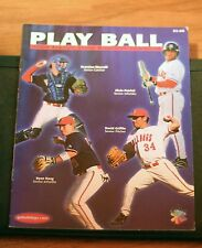 2004 Fresno State Baseball Yearbook, Play Ball