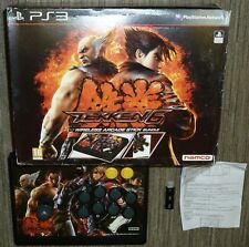 SONY PLAYSTATION 3 PS3 HORI TEKKEN 6 WIRELESS FIGHTING STICK JOY FIGHT ARCADE Bx