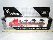 Bobcat Semi With Three 753 Skid Loaders      By Wan Ho   1/50th Scale