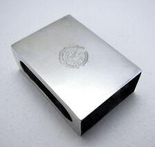Indian Colonial SILVER Match box Cover Case Vesta Match Box J Manikrai & Sons