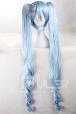 Night of Winter Lolita Miku Cos Wig Blue Cosplay Wig+ Wig Cap Free Shipping