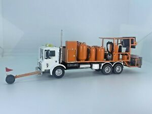 HO 1/87 Custom RPS Boley Mack DOT Highway Department Line Painting Truck Herpa