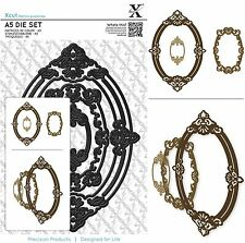 DOCRAFTS XCUT A5 DIE SET ORNATE FRAMES OVAL CUTTING DIES - NEW UNIVERSAL FIT