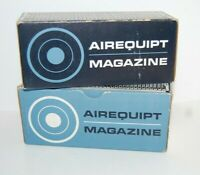 Lot of 2 Vintage Airequipt Automatic Slide Projector Magazines 2 x 2 New