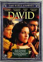 Bible Stories David NEW DVD Nathaniel Parker Leonard Nimoy Jonathan Pryce