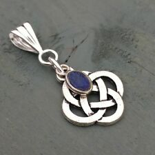Lapis Lazuli Gemstone Oval Costume Necklaces & Pendants