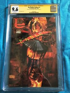 Sandman - Endless Gallery #1 - DC - CGC SS 9.6 NM+ - Signed by Moore, Case