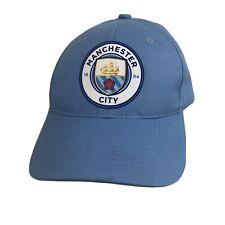Mens Manchester City 1984 Adjustable Baseball Hat Cap Powder Baby Sky Blue