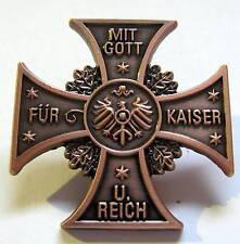 PIN Mit Gott für Kaiser und Reich***P-367*** NEU! NEU!