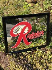 Rainier Beer Bar Mirror Man Cave Pub
