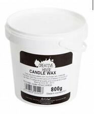 Creative House 800g Tub of Candle Wax With 6% Stearin