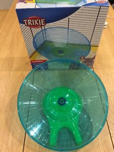 Trixie Running Disc Flying Saucer Exercise Wheel 30cm Degu's, Rat's, Chinchillas