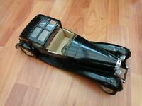 SOLIDO 1/21 BUGATTI ROYALE 1930 TYPE 41 MODEL CAR - BLACK MINT LOOSE