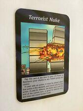 "Illuminati New World Order ""Terrorist Nuke"" Card Game NrM"