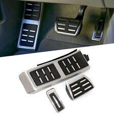 Audi DSG automático aluminio 3 un. Pedales LHD Pedal Almohadillas Cover Set Resto del Pie