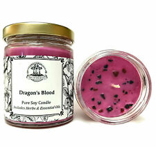 Dragons Blood Soy Spell Candle Love Protection Power Hoodoo Voodoo Wiccan Pagan