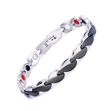 Novoa Women Magnetic Bracelet Quad-Element Stainless Titanium