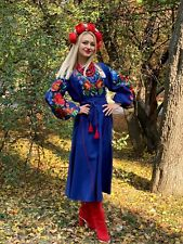 Ukrainian Embroidered Dress Vyshyvanka embroidery Eco Collection