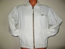MENS BOYS BEIGE SHORT 100% COTTON HARRINGTON ZIP FRONT JACKET MEDIUM 38/40 CHEST