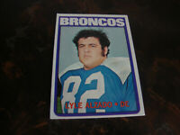 1972 Topps Football---Rookie---#106 Lyle Alzado
