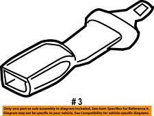 FORD OEM Rear Seat Belt-Extension 6L2Z78611C22AA