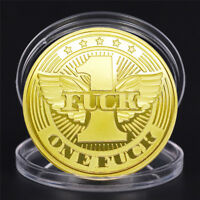 Gold Plate Gesture Coin Angel Wings Commemorative Challenge Coin Art CollectionJ
