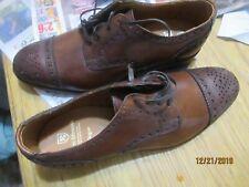 ThALLEN EDMONDS Rogue Chili Leather Men's Shoes Size 9D NEW UNUSED 1ST QUALITY U