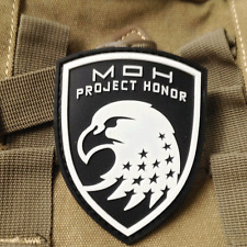 Eagle Patch Medal of Honor WARFIGHTER MOH Project Honor 3D PVC Patch