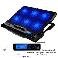Laptop Cooler 2 USB Ports And Six Cooling Fan Notebook Stand Fixture For Laptop