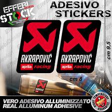 Adesivo / Sticker AKRAPOVIC APRILIA RACING RSV4 RF FW TUONO CAPONORD 200°gradi