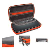 Orzly Carry Case for New Nintendo 2DS XL or 3DS XL - Red/Black