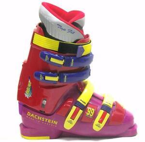 DACHSTEIN PROLINE 99 4 Buckle Ski Boots Mondo 25.5.5 Men 7.5 Women 8.5 RARE