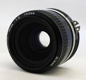 Nikon Nikkor 35mm F/2 Ai Converted Wide Angle MF Lens from Japan