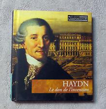 """HAYDN """"LE DON DE L'INVENTION"""" CD ALBUM & BOOK LIVRE N°1 MUSICAL MASTERPIECES"""