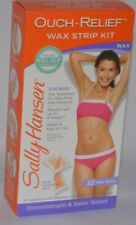 SALLY HANSEN OUCH - RELIEF WAX STRIP KIT FOR BODY CONTOURING STRIP 32 STRIPS NEW