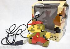 Super Mario Bros. Nintendo Dot design USB Mouse Banpresto JAPAN GAME NES FIGURE