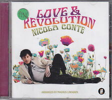 NICOLA CONTE - love & revolution CD
