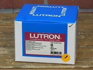 Lutron NTR-15-GFST-GR Nova T Duplex Self-Testing Tamper Resistant Receptacle GRY